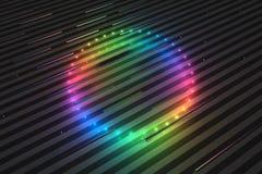 χρώματα κύκλων Στοκ Φωτογραφίες