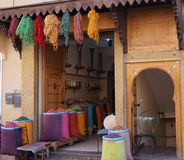 χρώματα Μαρόκο Στοκ εικόνες με δικαίωμα ελεύθερης χρήσης
