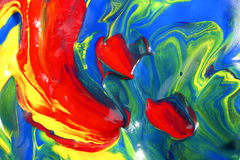 χρώματα μικτά Στοκ Φωτογραφίες