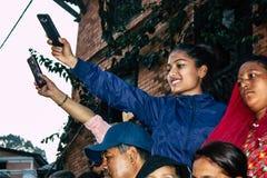 χρώματα Νεπάλ στοκ εικόνες με δικαίωμα ελεύθερης χρήσης