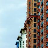 Χρώματα οικοδόμησης Στοκ εικόνες με δικαίωμα ελεύθερης χρήσης