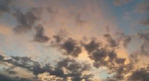 Χρώματα ουρανού OD tej Στοκ Φωτογραφίες