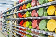 Χρώματα πιάτων Στοκ φωτογραφίες με δικαίωμα ελεύθερης χρήσης