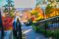Χρώματα πτώσης της Αϊόβα Στοκ φωτογραφία με δικαίωμα ελεύθερης χρήσης