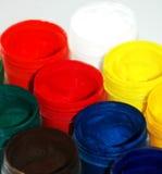 Χρώματα στα βάζα Στοκ Εικόνες