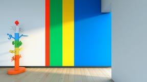 Χρώματα στον τοίχο Στοκ Εικόνες