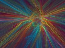 Χρώματα στο μετάξι απεικόνιση αποθεμάτων