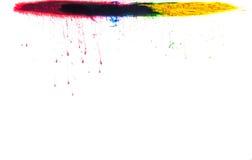 Χρώματα στο νερό Στοκ Εικόνα