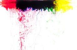 Χρώματα στο νερό Στοκ φωτογραφίες με δικαίωμα ελεύθερης χρήσης