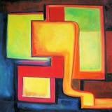 χρώματα σύγχρονα Στοκ εικόνες με δικαίωμα ελεύθερης χρήσης