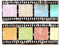 Χρώματα ταινιών grunge Στοκ εικόνες με δικαίωμα ελεύθερης χρήσης