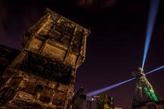 Χρώματα της νύχτας φεστιβάλ της Οστράβα Στοκ εικόνες με δικαίωμα ελεύθερης χρήσης