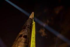 Χρώματα της νύχτας φεστιβάλ της Οστράβα Στοκ Εικόνες