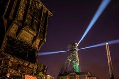 Χρώματα της νύχτας φεστιβάλ της Οστράβα Στοκ Φωτογραφίες