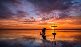 Χρώματα της προσευχής Στοκ Εικόνα