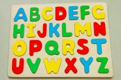 Χρώματα του αγγλικού αλφάβητου Διανυσματική απεικόνιση