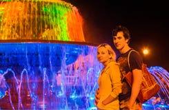Χρώματα του υπολοίπου νύχτας Στοκ Εικόνα
