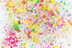 Χρώματα υποβάθρου Στοκ Φωτογραφία