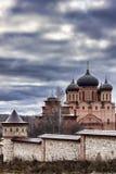 Χρώματα φθινοπώρου Μοναστήρι των ιερών θάμνων Στοκ Εικόνες
