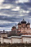 Χρώματα φθινοπώρου Μοναστήρι των ιερών θάμνων Στοκ εικόνα με δικαίωμα ελεύθερης χρήσης