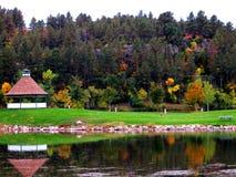 Χρώματα φθινοπώρου στο πάρκο Στοκ Φωτογραφία