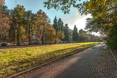 Χρώματα φθινοπώρου του πάρκου στοκ φωτογραφία με δικαίωμα ελεύθερης χρήσης
