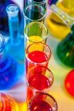 Χρώματα χημείας στοκ φωτογραφίες