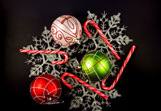 χρώματα Χριστουγέννων Στοκ Εικόνες