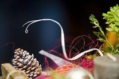 χρώματα Χριστουγέννων Στοκ εικόνα με δικαίωμα ελεύθερης χρήσης