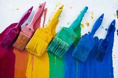 χρώματα διαφορετικά Στοκ Εικόνες