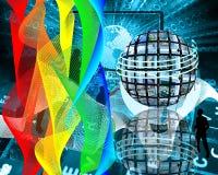Χρώματα Διαδικτύου Στοκ φωτογραφία με δικαίωμα ελεύθερης χρήσης
