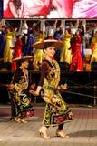 χρώματα 1malaysia 2010 Στοκ Εικόνες