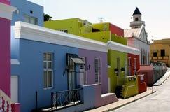 Χρώματα BO-Kaap Στοκ φωτογραφίες με δικαίωμα ελεύθερης χρήσης