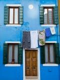Χρώματα Burano Στοκ Εικόνες