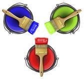 Χρώματα CMYK Στοκ εικόνα με δικαίωμα ελεύθερης χρήσης
