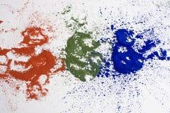 χρώματα rgb Στοκ Φωτογραφίες