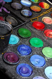 χρώματα s καλλιτεχνών Στοκ φωτογραφία με δικαίωμα ελεύθερης χρήσης