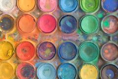 Χρώματα Tempera στοκ φωτογραφίες με δικαίωμα ελεύθερης χρήσης