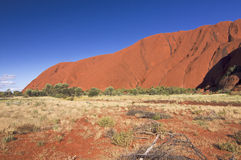 Χρώματα Uluru, Αυστραλία Στοκ Εικόνα