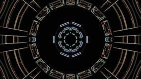 Χρώματος γραμμών συρμένη διακοσμητική καλειδοσκόπιων εθνική φυλετική psychedelic σχεδίων νέα ποιότητα βρόχων υποβάθρου ζωτικότητα διανυσματική απεικόνιση