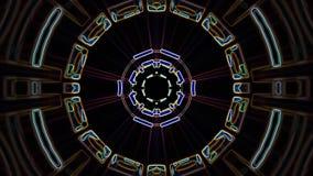 Χρώματος γραμμών συρμένη διακοσμητική καλειδοσκόπιων εθνική φυλετική psychedelic σχεδίων νέα ποιότητα βρόχων υποβάθρου ζωτικότητα ελεύθερη απεικόνιση δικαιώματος