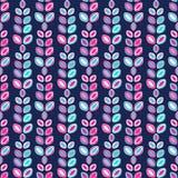 χρώματος διάφορο διάνυσμα παραλλαγών προτύπων πιθανό μπλε υπόβαθρο, φύλλα, ψεκασμός Στοκ Εικόνα