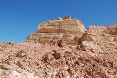 χρώμα Αίγυπτος φαραγγιών Στοκ Εικόνα