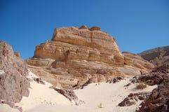 χρώμα Αίγυπτος φαραγγιών Στοκ Φωτογραφία