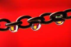 χρώμα αλυσίδων Στοκ φωτογραφίες με δικαίωμα ελεύθερης χρήσης