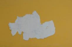 Χρώμα αποφλοίωσης σε μια συγκεκριμένη επιφάνεια Στοκ εικόνα με δικαίωμα ελεύθερης χρήσης