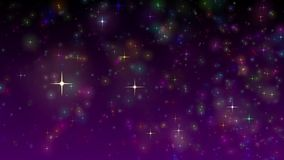 Χρώμα αστεριών απεικόνιση αποθεμάτων