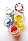 χρώμα βάζων γυαλιού στοκ φωτογραφία με δικαίωμα ελεύθερης χρήσης