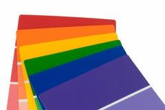 χρώμα γάμμα τσιπ Στοκ Φωτογραφίες