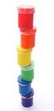 χρώμα γκουας δοχείων Στοκ Εικόνες